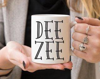 Delta Zeta Inline Coffee Mug