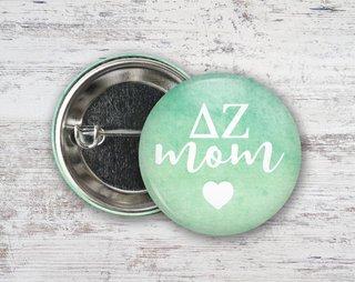 Delta Zeta Mom Button