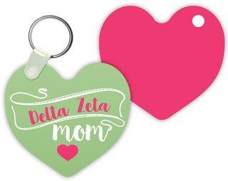 Delta Zeta Mom Keychain