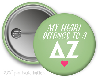 Delta Zeta My Heart Belongs to a Button