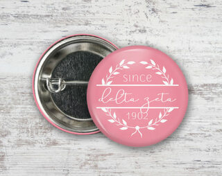 Delta Zeta Since Founded Button