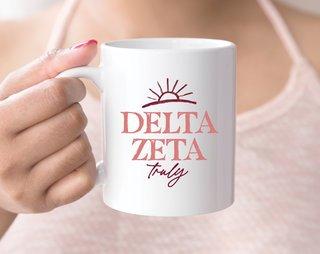 Delta Zeta Sun Mug