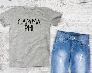 Gamma Phi Beta Campus Tee