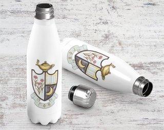 Gamma Phi Beta Crest - Shield Stainless Steel Water Bottle