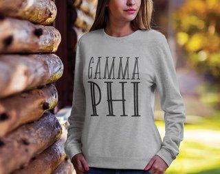 Gamma Phi Beta Inline Sweatshirt