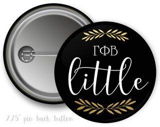 Gamma Phi Beta Little Button
