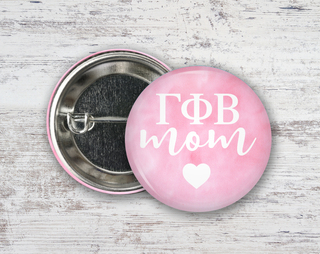 Gamma Phi Beta Mom Button