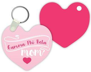 Gamma Phi Beta Mom Keychain