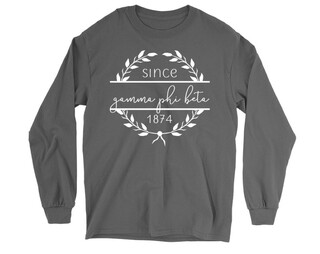 Gamma Phi Beta Since 1874 Long Sleeve