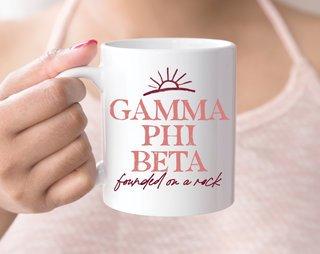 Gamma Phi Beta Sun Mug
