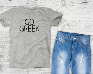 Go Greek Campus Tee