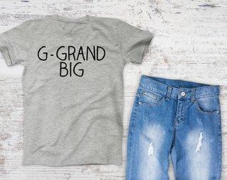 Great Grand Big Sister Campus Tee