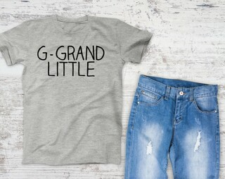 Great Grand Little Sister Campus Tee