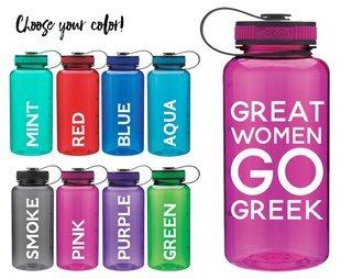 Greek Women Water Bottle