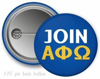 Join Alpha Phi Omega Button