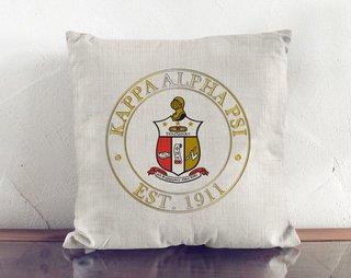 Kappa Alpha Psi Crest Linen Pillow