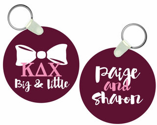 Kappa Delta Chi Big and Little Keychain