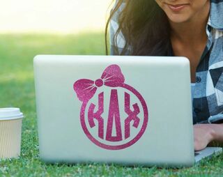 Kappa Delta Chi Bow Decal