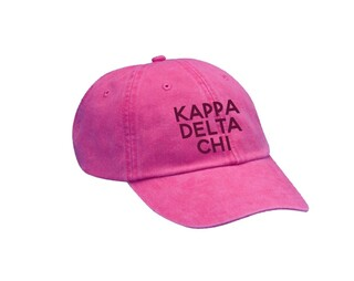 Kappa Delta Chi Simple Hat