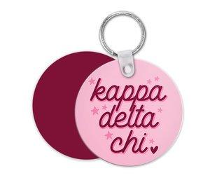 Kappa Delta Chi Star Key Chain