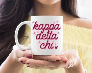 Kappa Delta Chi Star Mug