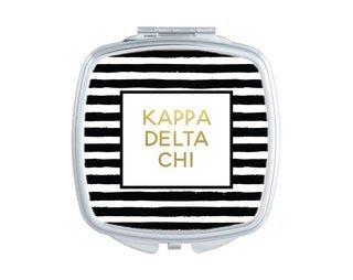 Kappa Delta Chi Striped Compact