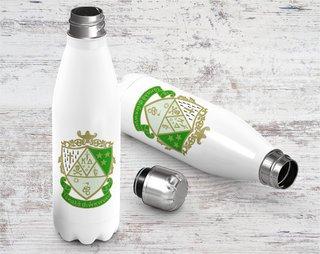 Kappa Delta Crest - Shield Stainless Steel Water Bottle