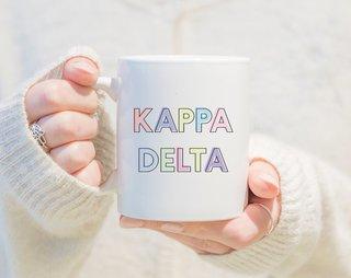 Kappa Delta Pastel Mug