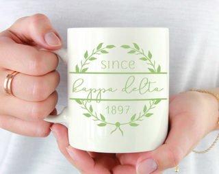 Kappa Delta Since Established Coffee Mug