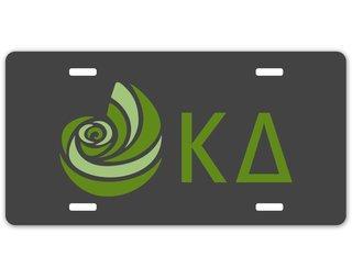Kappa Delta Sorority Logo License Cover