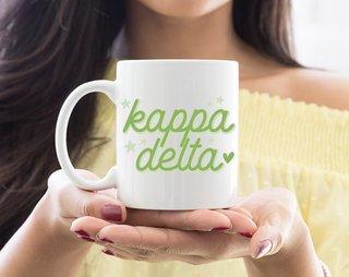 Kappa Delta Star Mug