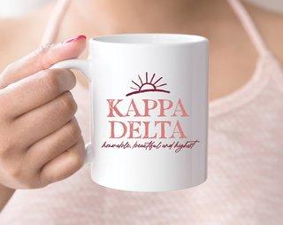 Kappa Delta Sun Mug
