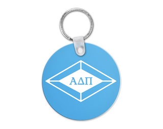 Alpha Delta Pi Diamond Keyring