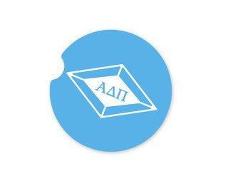 Alpha Delta Pi Diamond Coaster