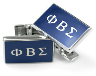 Phi Beta Sigma Flag Cufflinks