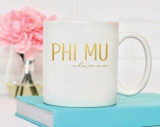 Phi Mu Alumna Mug