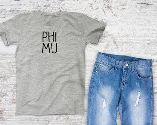 Phi Mu Campus Tee