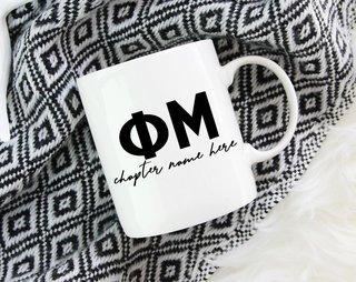 Phi Mu Chapter Mug