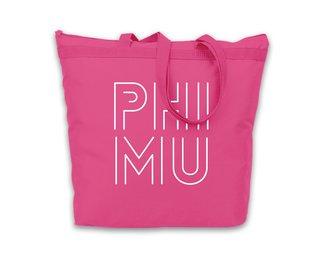 Phi Mu Modera Tote