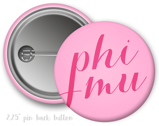 Phi Mu Script Button