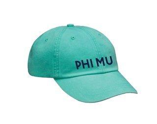 Phi Mu Simple Hat