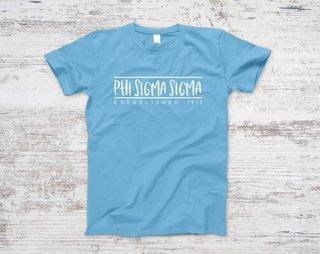 Phi Sigma Sigma Established Tee