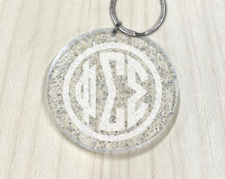 Phi Sigma Sigma Glam Glitter Chain