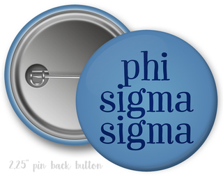 Phi Sigma Sigma Simple Text Button
