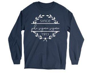 Phi Sigma Sigma Since 1913 Long Sleeve