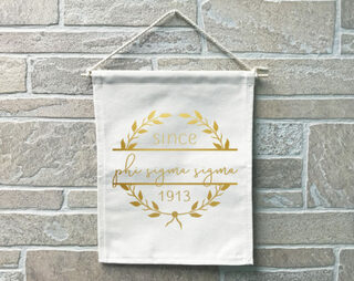 Phi Sigma Sigma Since Banner