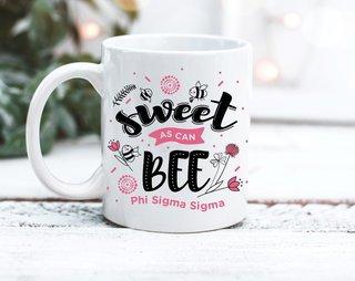Phi Sigma Sigma Sweet Bee Mug