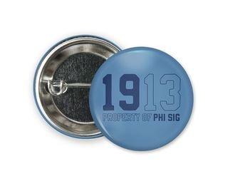 Phi Sigma Sigma Year Button