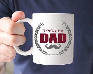 Pi Kappa Alpha Dadstache Mug