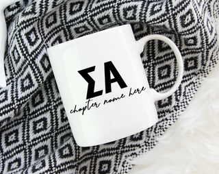 Sigma Alpha Chapter Mug